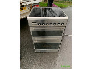 60cm wide ceramic top cooker perfect working order£120