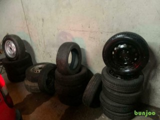 CAR TYRES 14 INCH & 15 INCH £10 EACH CALL 07834276834