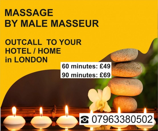 signature-massage-for-men-by-male-masseur-out-call-to-your-hotel-home-in-london-big-0