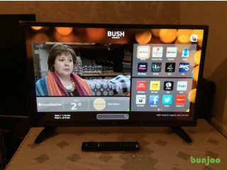 32 INCH BUSH SMART LED TV HD READY FREEVIEW MODEL DLED32287HDCNTDFVFZ REMOTE CONTROL SMETHWICK