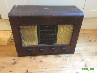Antique Bush radio