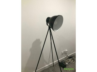 Black MADE tripod floor lamp