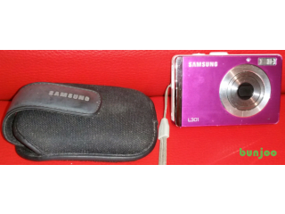 Pink samsung L301 digital camera for sale in liverpool