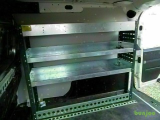 -- VAN RACKING / STORAGE SYSTEM