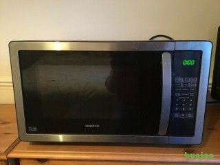 Kenwood Stainless Steel and Black