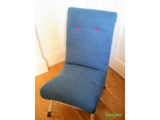 Small Vintage Reuphostered Chair
