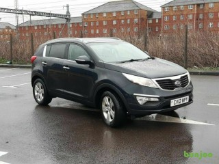 2012(12)KIA SPORTAGE 2 1.7 CRDi BLACK,NICE SPEC,6 SPEED,1 OWNER,BIG MPG,CLEAN CAR,GREAT VALUE