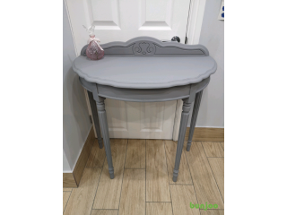 BEAUTIFUL SOLID WOOD SHABBY CHIC HALL CONSOLE TABLE