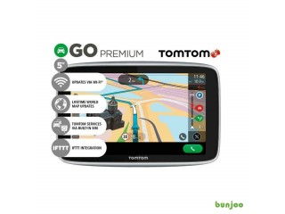 "5"" TomTom Go Premium Worldwide Lifetime Maps GPS Sat Nav Traffic & Upd. via WiFi (NO OFFERS, PLEASE)"