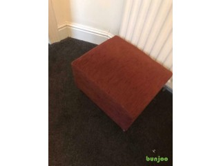 Foot stool tan colour