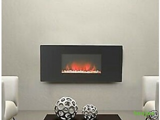 900mm Wide Ecoflame LED Remote Control Electric Fire Brand New & Boxed - Colour Changing Backlights