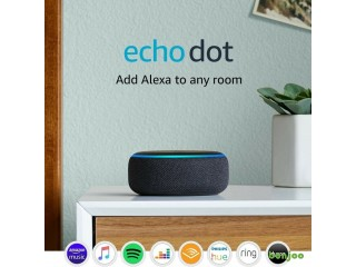 Amazon Echo Dot 3rd generation Smart speaker with Alexa - Charcoal / Heather Grey /Plum /Sandstone