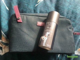 Ted baker travel bag with deodorant