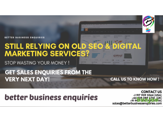 Get your products sold within days with Better Business Enquiries! Call us and know how !!