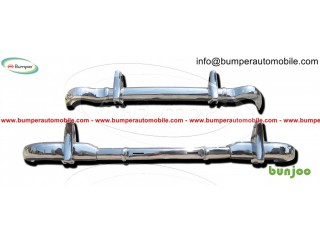 Mercedes W121 190 SL bumper by stainless steel