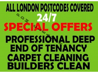 ALL LONDON ???? GUARANTEE END OF TENANCY CLEANING CARPET CLEANS SERVICES HOUSE DOMESTIC DEEP CLEANERS