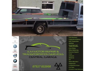Vehicle Recovery & Transpotation Services