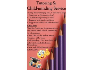 Tutoring & Child-minding service