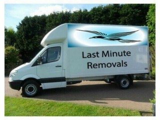 MAN AND VAN LARGE LUTON VAN WITH TAIL LIFT MAN WITH VAN REMOVALS SERVICES LAST MINUTE CHEAP VAN 24/7
