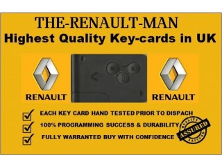 RENAULT KEY CARD PROGRAMMING, LIVERPOOL, WARRINGTON, WIGAN, MANCHESTER, BLACKBURN, PRESTON.