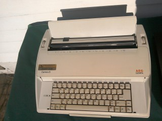 Electric Typewriter, AEG Olympia.