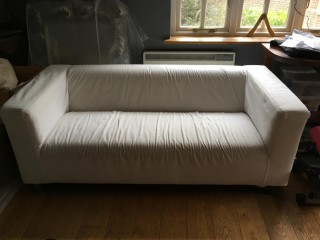 Cream Ikea Sofa
