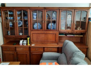 FREE to collector, 3 x wall units / display cabinets