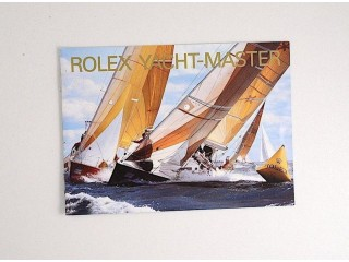 Rolex Yacht-master, owners instruction booklet only, in Italian language.
