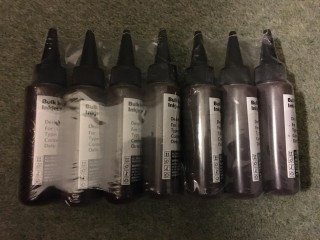 Bulk Black ink for inkjet printer