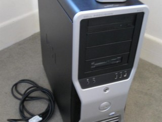 BEAST OF A PC Dell Precision 690 two quad core 2.33GHZ CPU'S 16GB 120GB SSD drive with 500GB HD