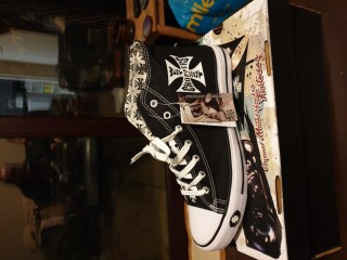 West coast chopper kustom kick shoes 10 1/2