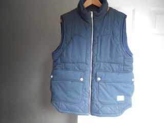 Beanpole Designer Men's Quilted Gilet in Navy Size XL (NEW)