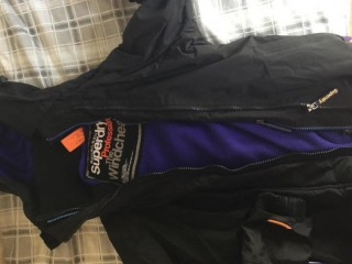 Extra small superdry coat