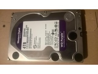 4TB Western digital sata hard drive (desktop PC/CCTV)
