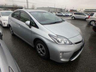 2014/64 TOYOTA PRIUS HYBRID 1800CC PEARL SILVER COLOR, RESERVED BY CUSTOMER