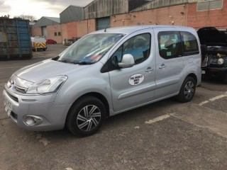 PRIVATE HIRE PHC CAR CITROEN BERLINGO 1.6HDI AUTOMATIC - UBER RENTAL - GREAT MPG (Leith, Edinburgh