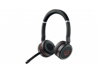 Jabra Evolve 75 Wireless Bluetooth Stereo Professional business headset ANC with Link370 BNIBRRP£350