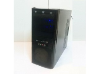 Custom Desktop PC AMD Phenom X4 3.5 Ghz, 4 GB Ram 500 GB Hard Windows 10 + Wifi Keyboard