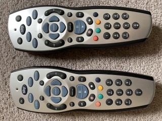 SKY HD remote controls pair