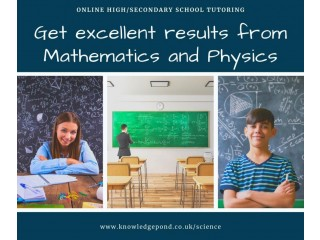 High School/ Secondary School Mathematics and Physics Tutoring