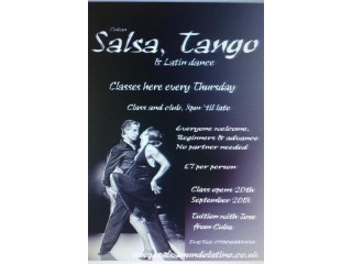 Salsa & Tango classes in Bexleyheath. New class and club.