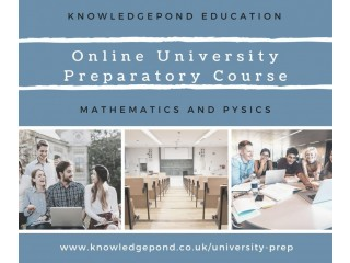 Online University Preparatory Course - Maths and Physics
