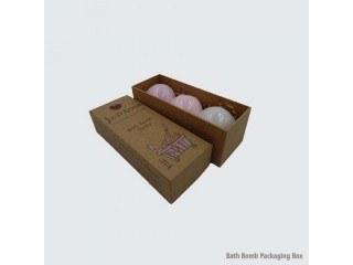 Custom bath bomb packaging wholesale