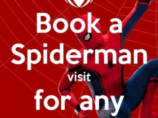 Spiderman Birthday Party & Event Visits