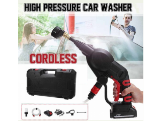 Portable Wireless High-pressure Handheld Rechargeable Car Washing Water Gun