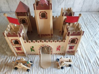 Childrens Toy Wooden Fort