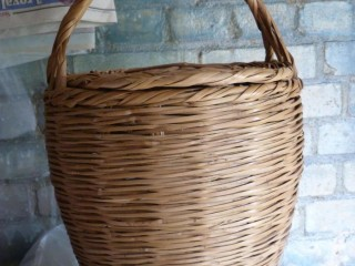 Picnic or Craft Basket with lid.