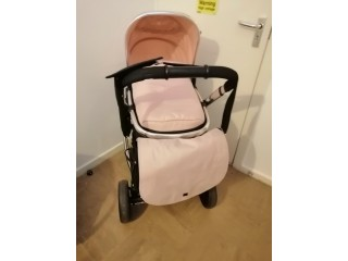 Mothercare journey travel system in blush pink