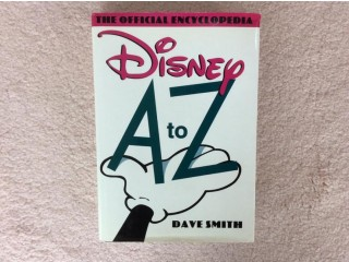 Disney (RARE 1ST ED) A to Z book