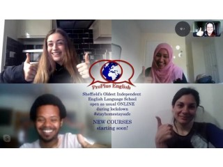 English Lessons from home in Sheffield's Oldest Independent English Language School - private and group ESL tuition